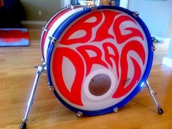 Big Drag Drum Head